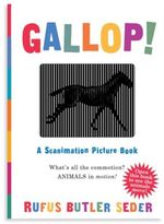 Workman Publishing Gallop - A Scanimation Picture Book