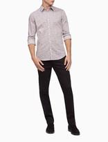 Camo Print Button-Down Shirt