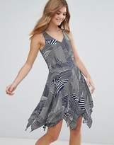 Lavand Printed Skater Dress