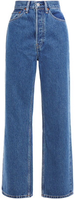 RE/DONE 30s Ladies High-rise Straight-leg Jeans