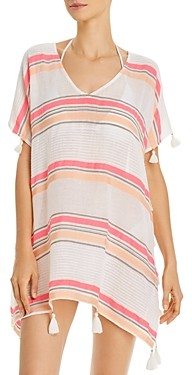 Surf.Gypsy Striped Tunic Swim Cover-Up