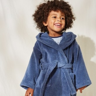 The White Company Hydrocotton Toddler Robes (2-5yrs), Blue, 2-3yrs