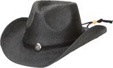 San Diego Hat Company Men's Cowboy w/ Chin Cord PBC1030