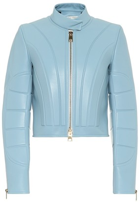 Bottega Veneta Cropped leather jacket