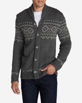 Eddie Bauer Men's Snow Bridge Cardigan Sweater