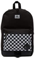 Steve Madden Check Print Nylon Classic Dome Backpack