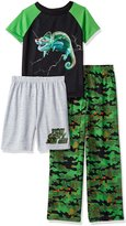 Komar Kids Big Boys' 3pc Sleepwear Set