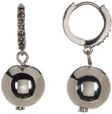 Kenneth Cole New York Pave Accent Ball Drop Earrings