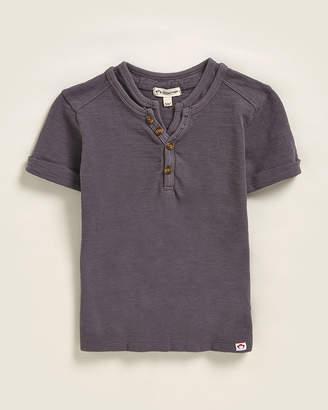 Appaman Boys 4-7) Double Collar Knit Short Sleeve Tee