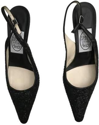Emma Hope \N Black Leather Sandals