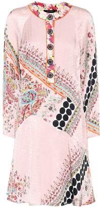 Etro Printed jacquard dress