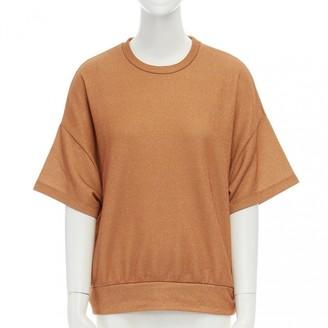 Dries Van Noten Gold Cotton Knitwear for Women