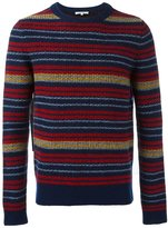 Carven striped crew neck pullover