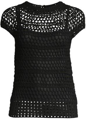 Theory Crochet T-Shirt
