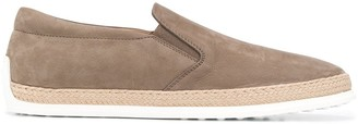 Tod's Slip-On Leather Shoes