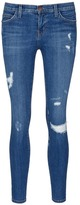 Current/Elliott 'The Stiletto' skinny fit distressed jeans