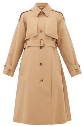 Golden Goose Serenity Single-breasted Trench Coat - Womens - Beige