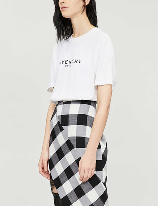Givenchy Logo-print regular fit cotton-jersey T-shirt