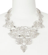 Kate Spade Crystal Rose Statement Necklace