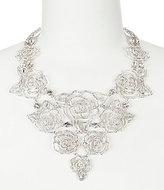 Kate Spade Crystal Rose Statement Necklace