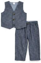 Nordstrom Infant Boy's Chambray Vest & Pants