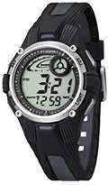 Calypso Unisex Digital Watch with LCD Dial Digital Display and Multicolour Plastic Strap K5558/6