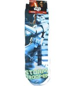 Disney Star Wars Storm Trooper Printed Children's Socks - UK Size 9-11