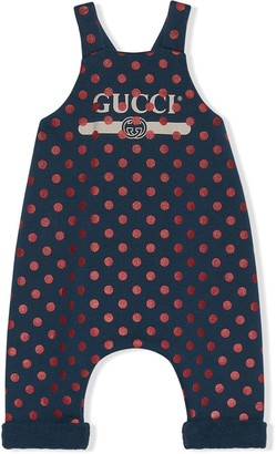 Gucci Kids Polka-Dot Bodysuit