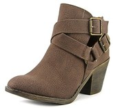 Blowfish Spins Women Round Toe Synthetic Brown Bootie.