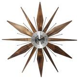 Infinity Instruments Utopia Wall Clock - Brown