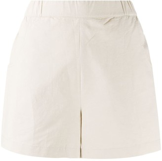 Folk High-Rise Slip-On Shorts