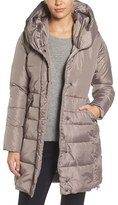 French Connection Women's Quilted Coat With Hood