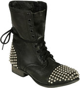 Steve Madden Studded Toe Laced Boot