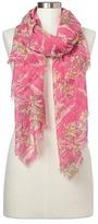 Gap Drapey fringe aloha scarf