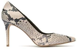 Mint Velvet Sarah Snake Print Court Shoes