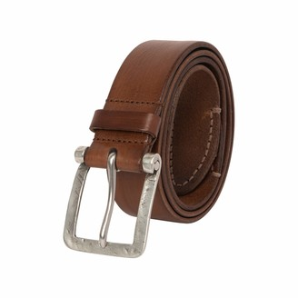 John Varvatos Casual Dress Leather Belts-for Men's Pants Jeans Trousers