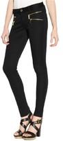 MICHAEL Michael Kors Womens Zipper Pockets Stretch Skinny Pants