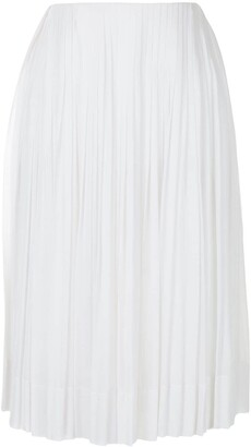 Céline Pre-Owned Pre-Owned Pleated Skirt