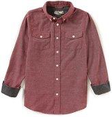 First Wave Big Boys 8-20 Button-Down Long-Sleeve Shirt