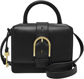Fossil Wiley Leather Satchel