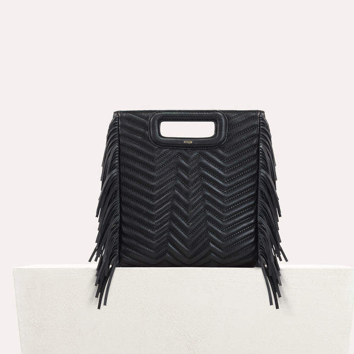 Maje Quilted leather M bag