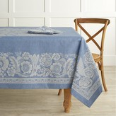 Williams-Sonoma Vintage Floral Jacquard Tablecloth