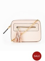 Miss Selfridge Crossbody Bag - Nude