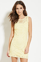 Forever 21 FOREVER 21+ Crochet Mini Dress