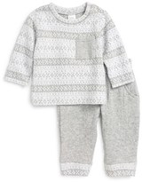 Nordstrom Infant Fair Isle Knit Top & Jogger Pants Set