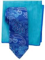 Ted Baker Garden Paisley Silk Tie & Pocket Square Set