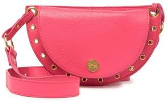 See by Chloe Grommet Leather Shoulder Bag