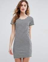 Vila Striped T-Shirt Dress