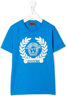 Versace Medusa Head logo T-shirt