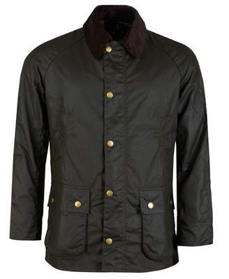 Barbour Ashby Contemporary Wax Jacket Colour: OLIVE, Size: SMALL